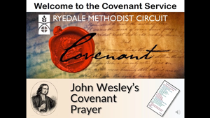 Covenant Service - 10 January 2021